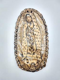 Placa de Virgen de Guadalupe
