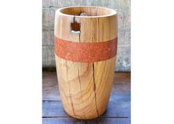 Oak Gate-Post Vase