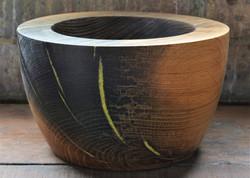 Canal Oak deep walled bowl