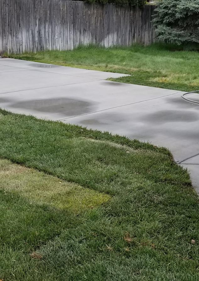 Cement Patio installation