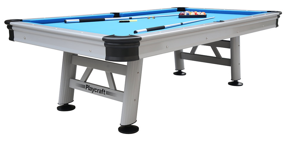 Playcraft Extera - 8 FT -Outdoor Pool Table. Free Delivery