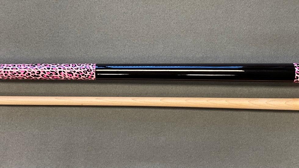 New - Nick Varner Cue - Pink Leopard