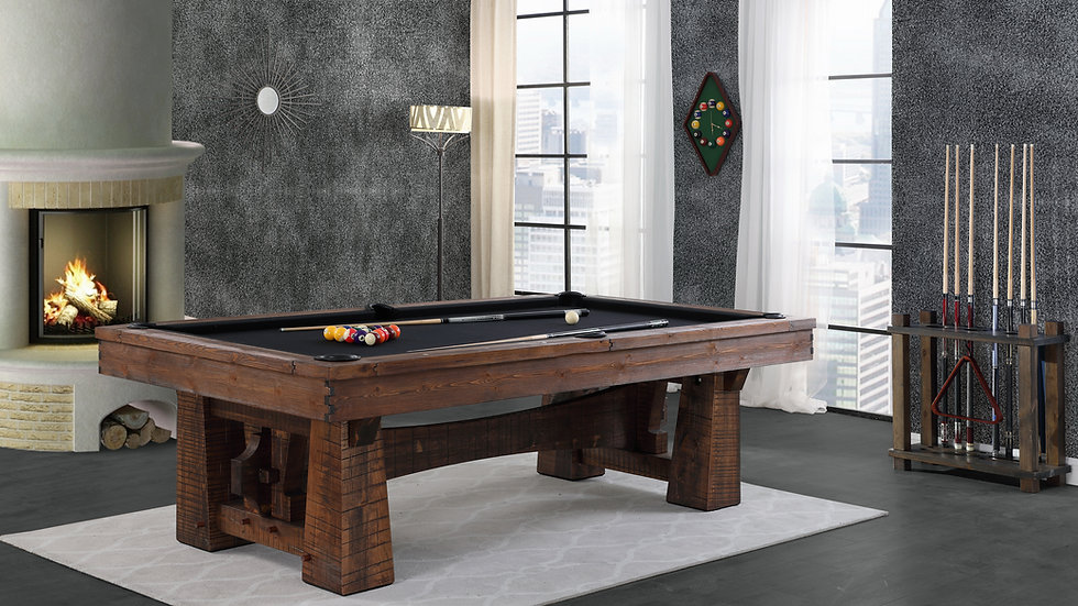 Playcraft Bull Run- 8 FT - Leather. Free Delivery & Installation