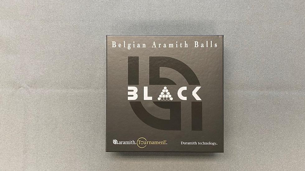 New - Aramith Black Balls