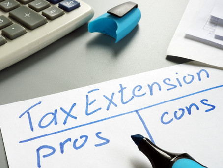 The Federal tax deadline is extended ... now what?