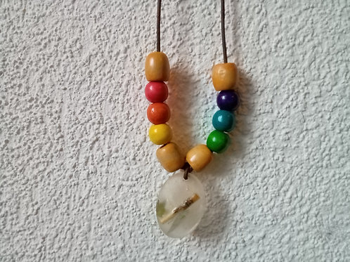 Reeds of Leaves Celebrate Inclusion Necklace