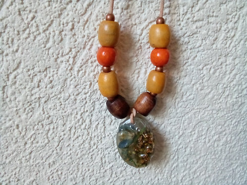 Seeds and Petals Necklace