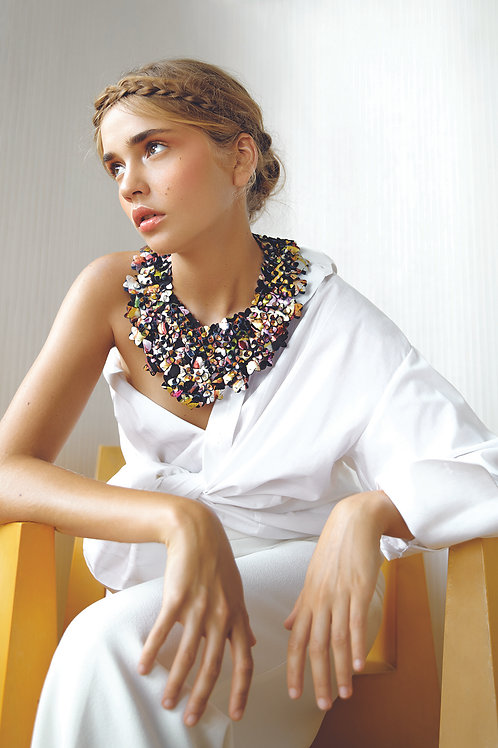 The Superb necklace, Double layered