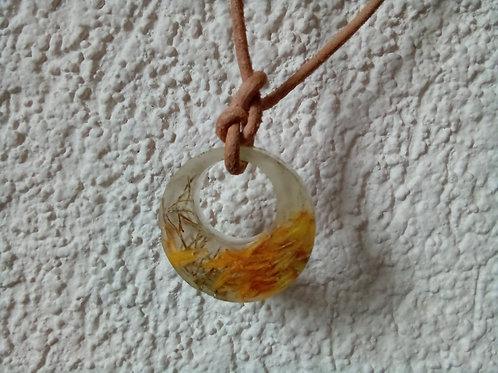 Dandelion Petals Necklace