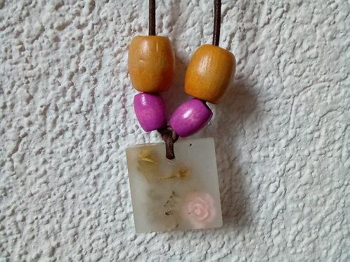 Foggy Rose Necklace