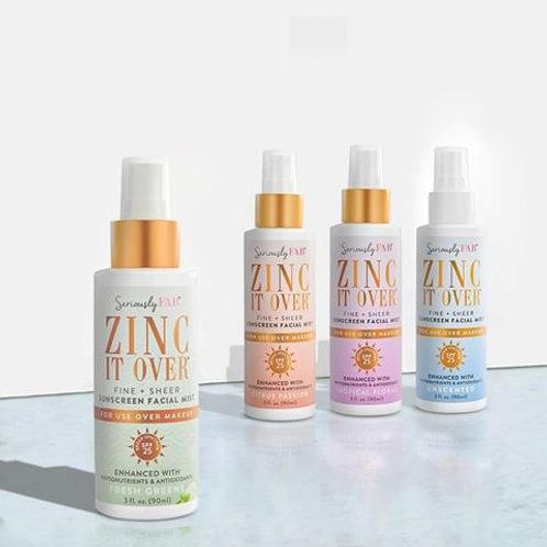 Zinc It Over Sunscreen Mist