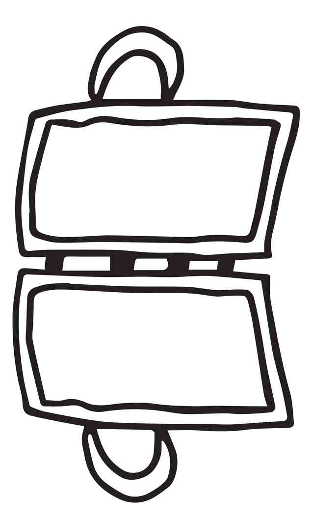 suitcase template