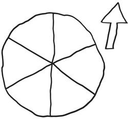 Wheel Template with Arrow