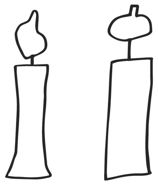 candles template