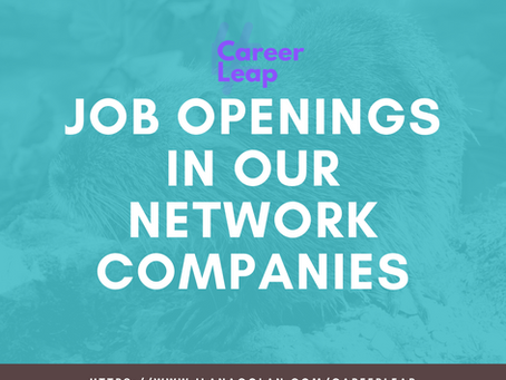 Job Openings in Our Network