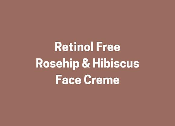 Retinol Free Rosehip & Hibiscus Face Creme
