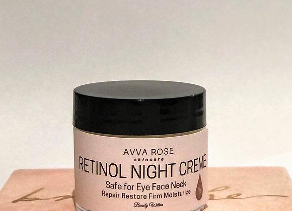 Retinol Night Creme for Face