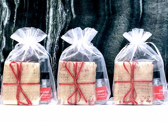 Candy Cane Holiday Gift Bundles Body, Bath & Home