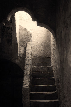 San Antonio Concepcion Mission Stairs 2