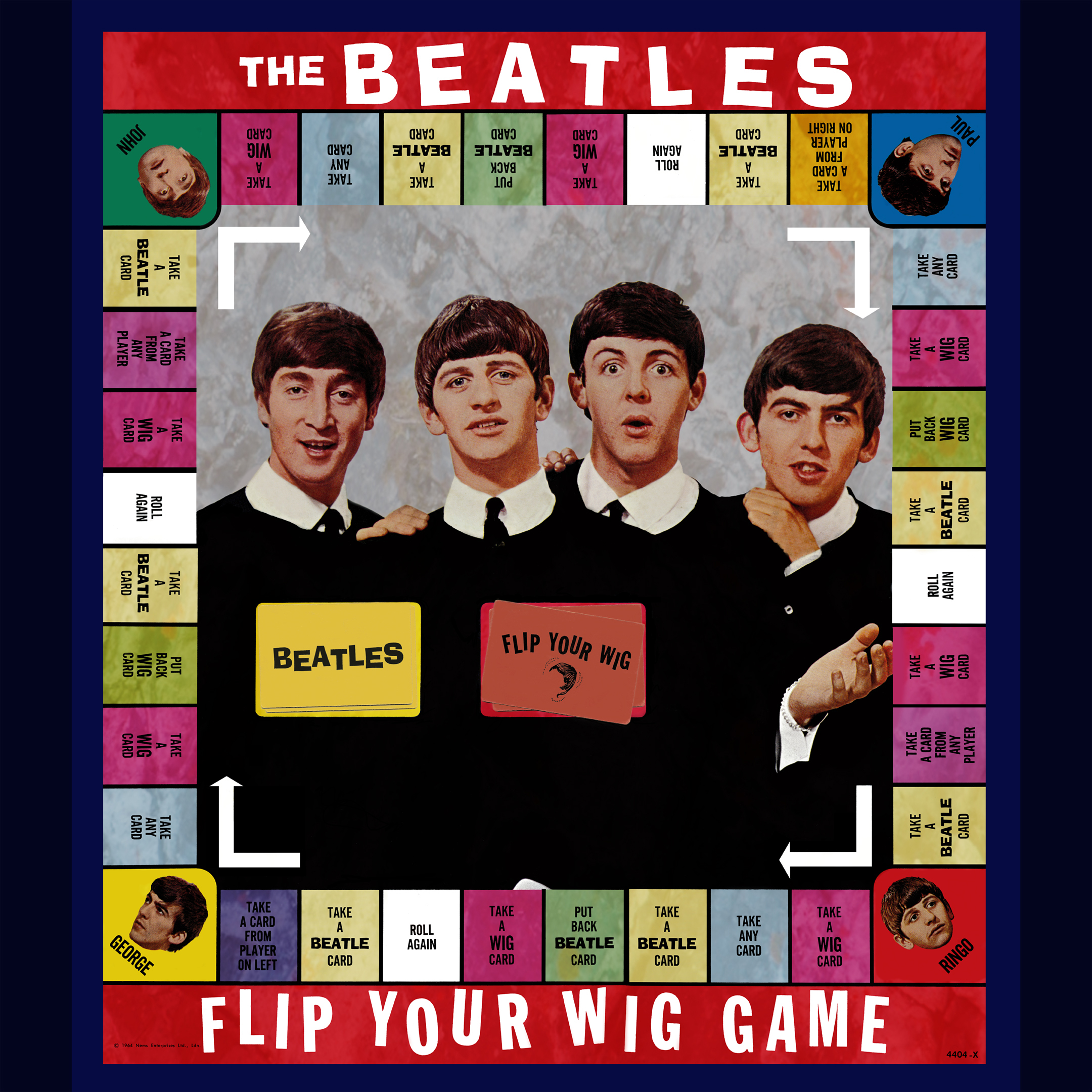 Beatles Flip Yout Wig Game Panorama1