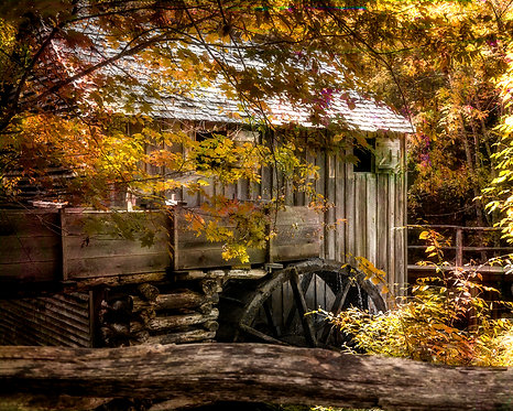 4204 Smokies Old Mill Cades Cove 5 Color 1