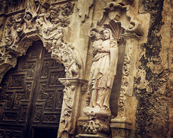 San Antonio San Jose Mission-8862 Color.