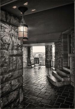 Lamp at Bothwell Lodge REV