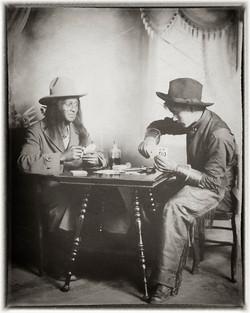 Grandpa David Cowboy w Friend