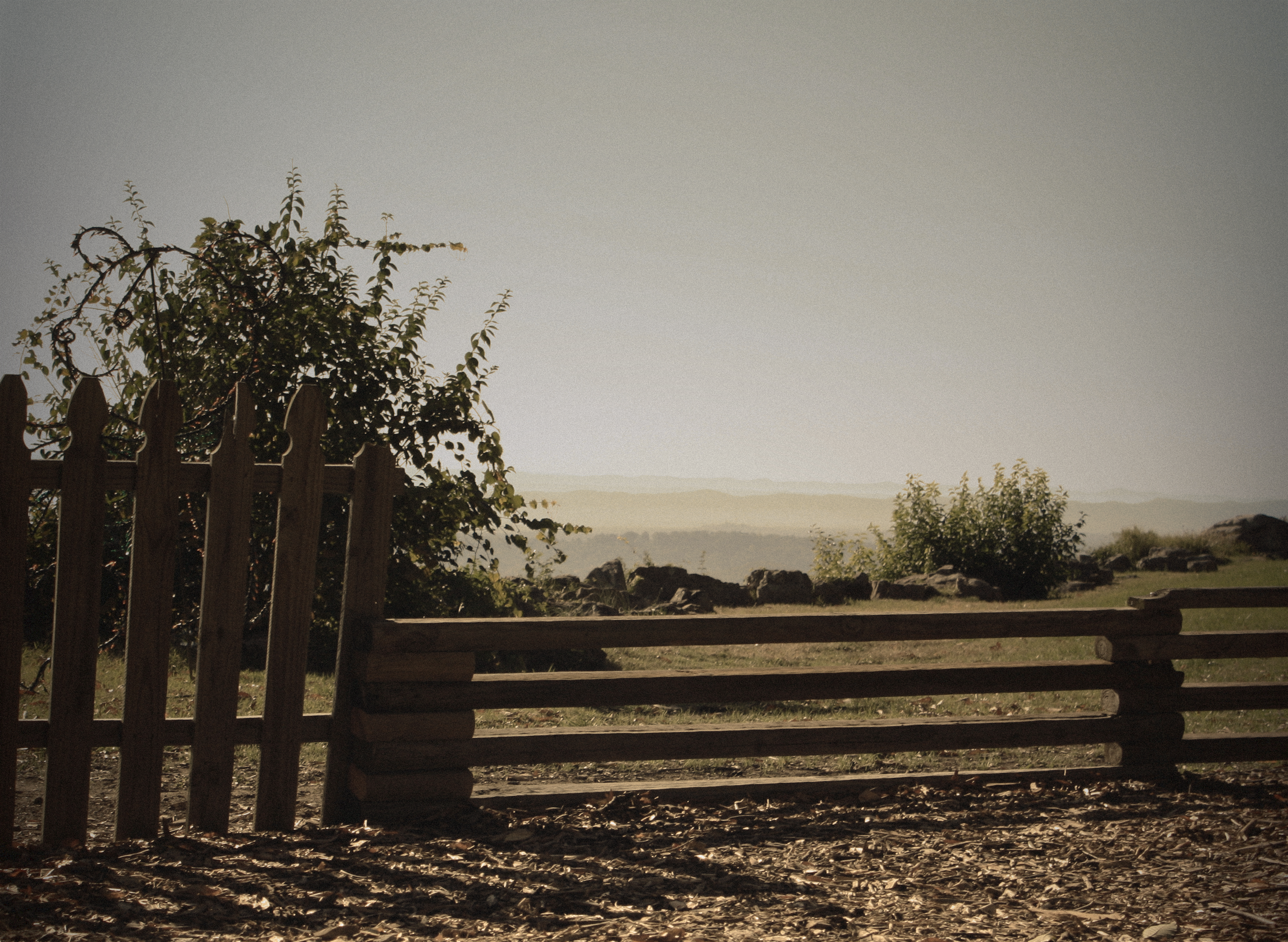 Wooden Fence 01