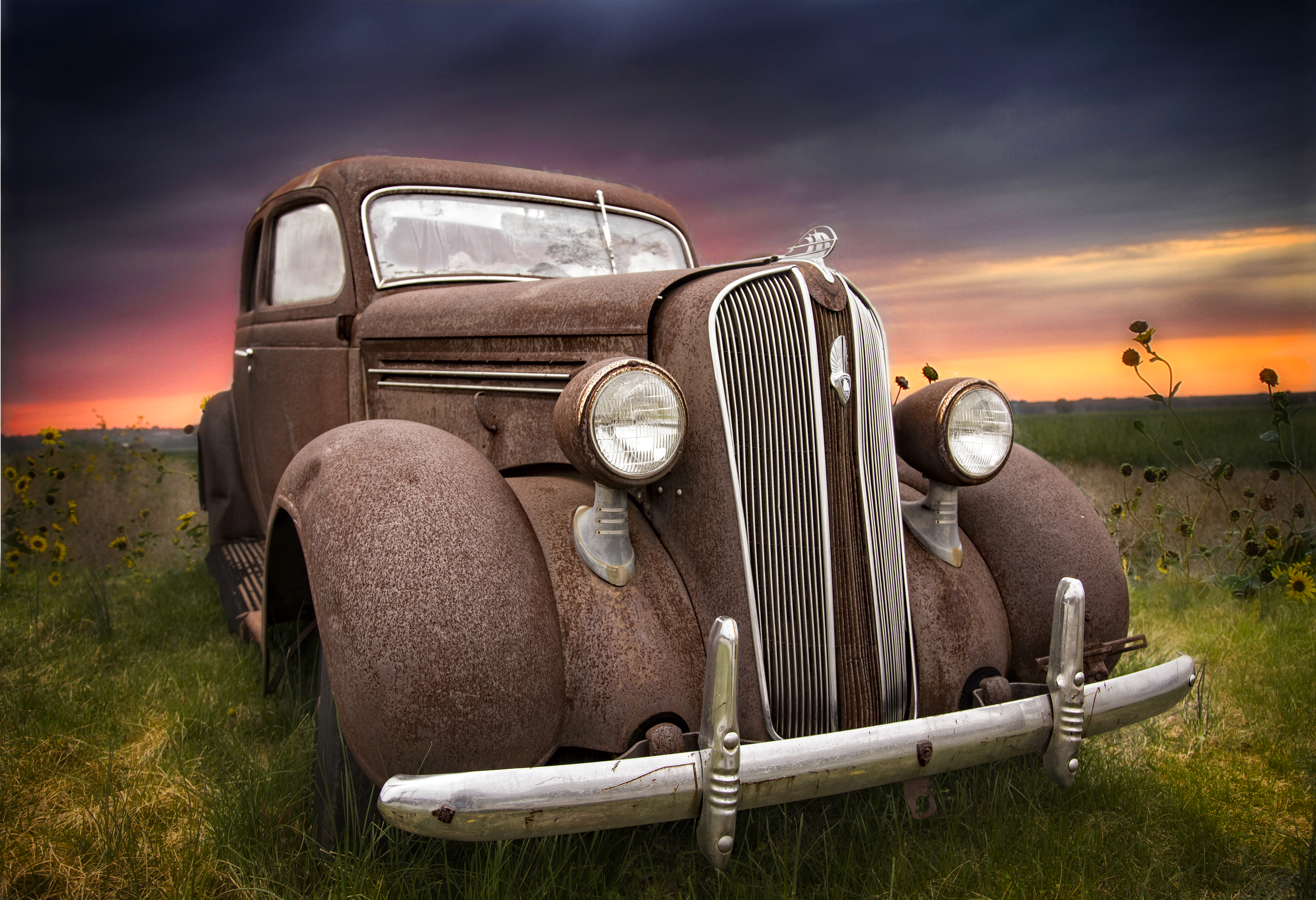 Rusty Old Car 1 V2 Perfect Effects