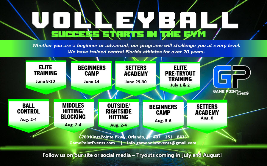 Summer Volleyball Camps