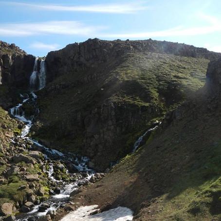 Ellefu hengdir í Sölvagili á Vaðlaheiði