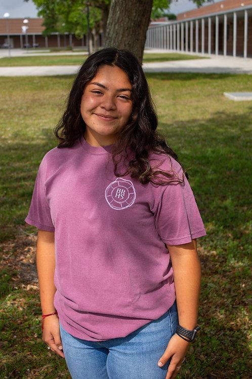Berry Nautical Short Sleeve T Shirt