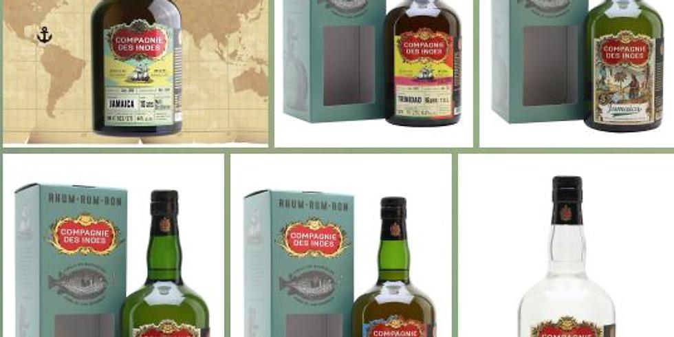 Compagnie Des Indes #Rum Zoom tasting