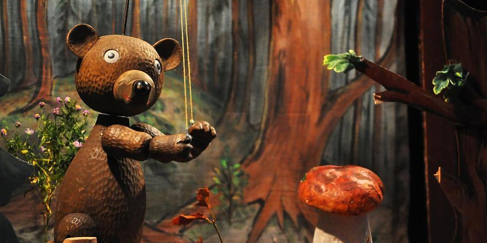 PRO DĚTI: Sváťovo divadlo: Máša a tři medvědi