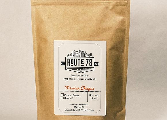 Mexican Chiapas Coffee-12 oz.