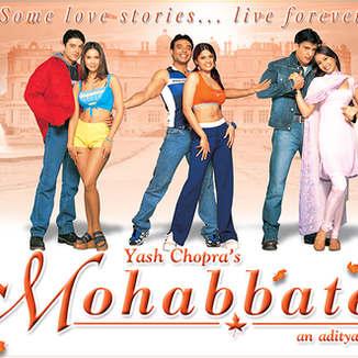 Mohabbatein - Banner