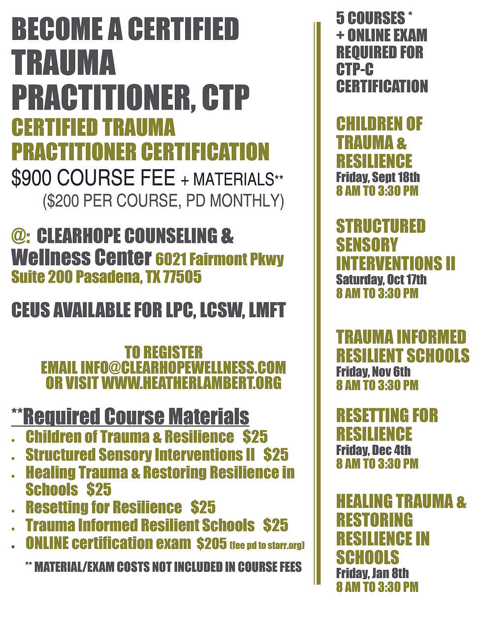 CTPC TLC Training Flyer Fall 2020_UPDATE