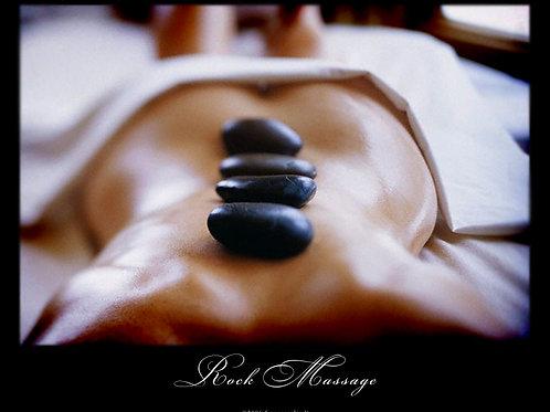 75 Minute Massage & Hot Stone Treatment