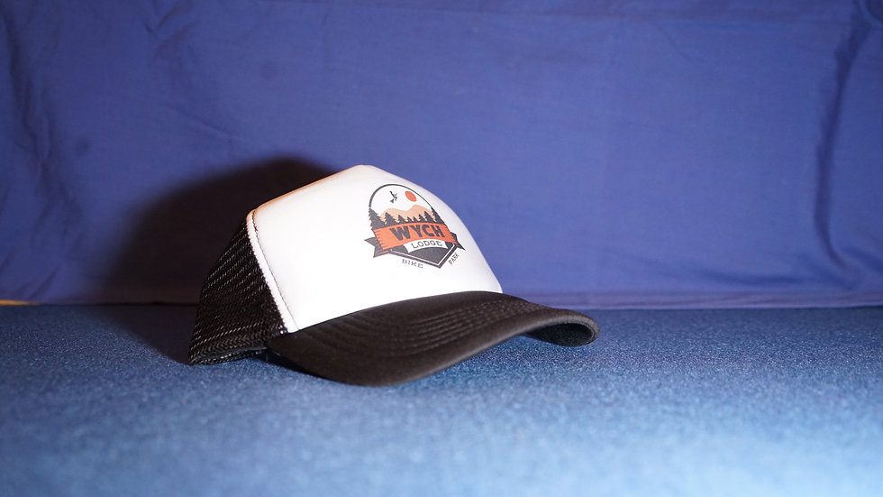 Wych Lodge Logo 1 Trucker Cap
