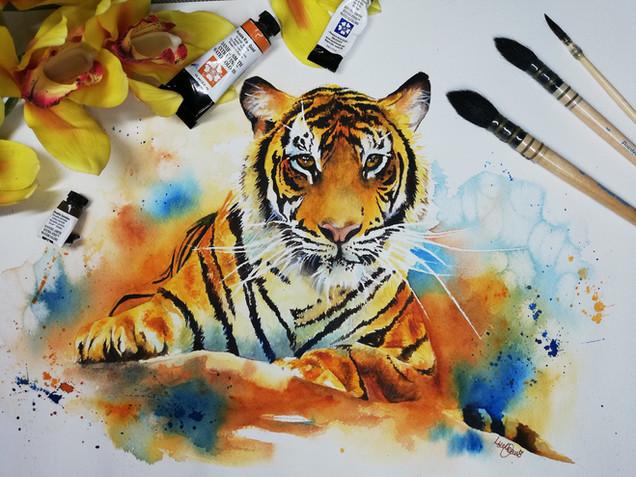 Indah The Sumatran Tiger
