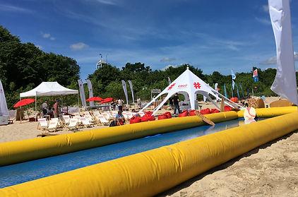 Ergo Hestia event na plaży