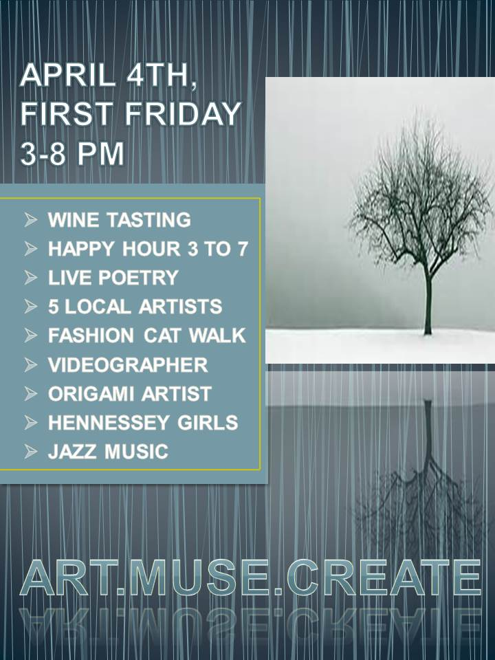 First Fridays April 4th 2014