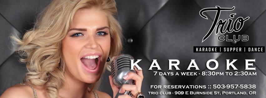 Karaoke 7 days a week