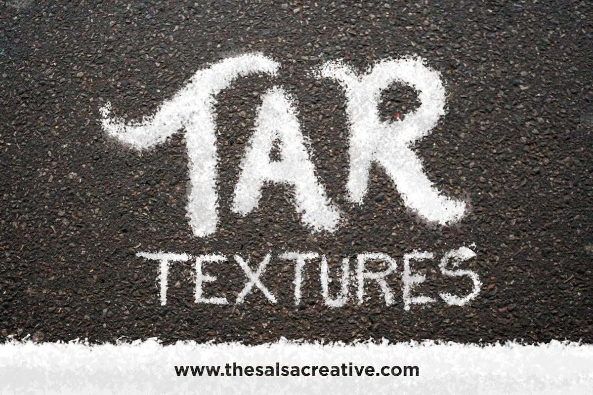 Tar Textures Set