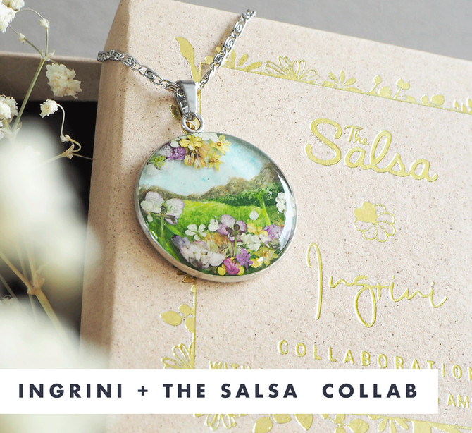 The Salsa Creative and Ingrini Jewellery Collaboration