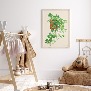 Ivy Illustration Printable Art
