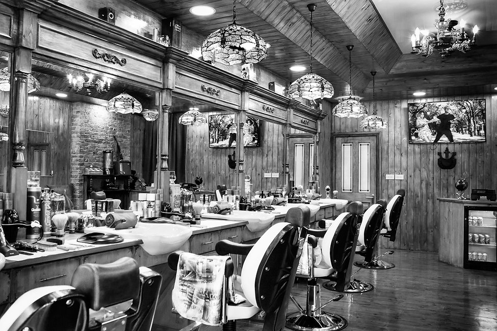 Classico Vintage styled Barbershop, North Clapham, London.