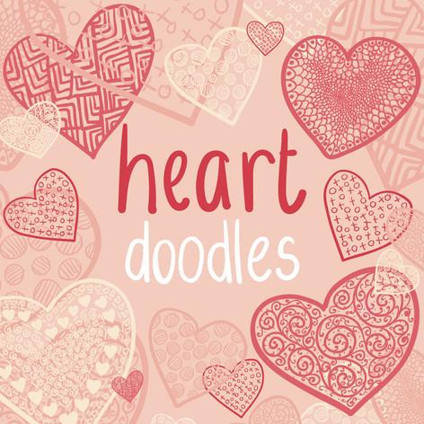 Heart Doodle Vectors