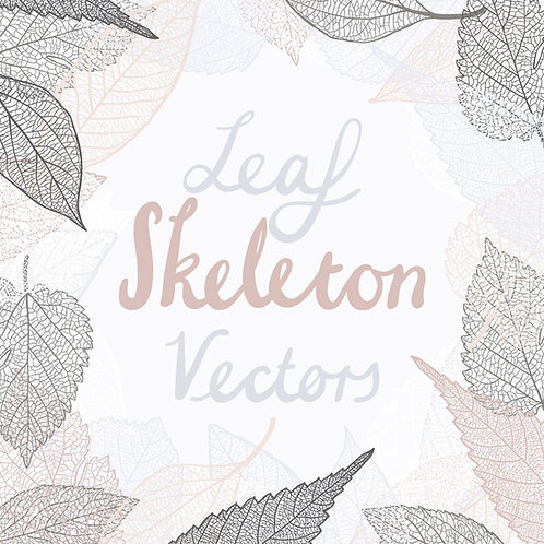 Leaf Skeleton Vectors